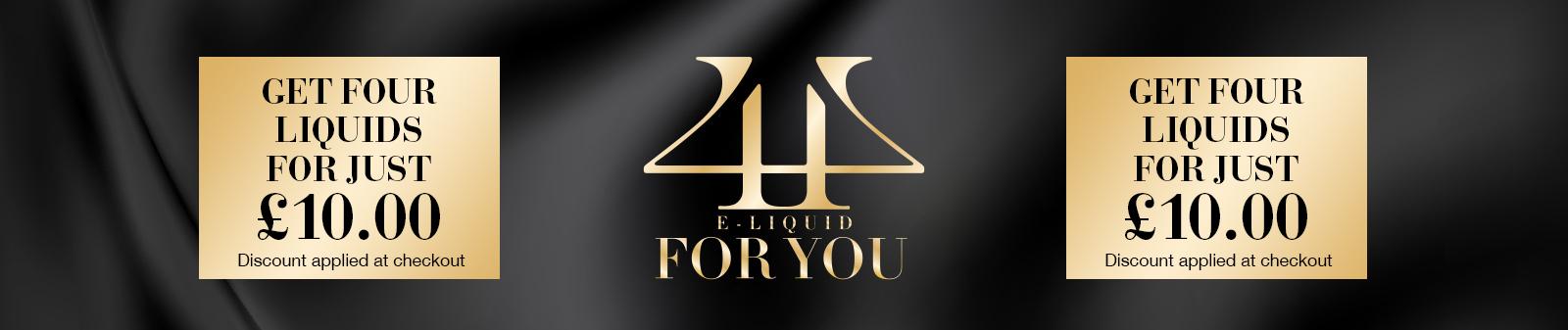 4U Eliquids Special Offer
