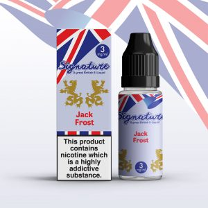 Signature 10ml E-liquid - Jack Frost