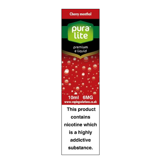 Puralite Cherry Menthol