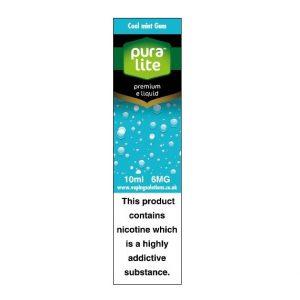 Puralite Cool Mint Gum