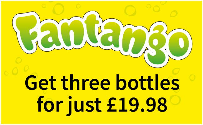 Fantango - three bottles for £19.98
